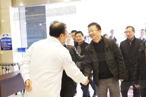 中国核工业416医院医生组莅临我院参观交流,强化科研合作,提升医生型医院诊疗实力